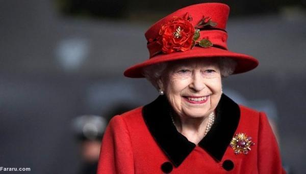 (ویدئو) بازدید ملکه انگلیس از ناو هواپیمابر ملکه الیزابت