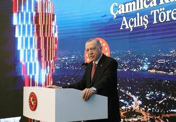 اردوغان: پروژه کانال استانبول از ماه آینده میلادی کلید می خورد