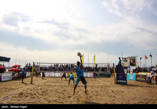 والیبال ساحلی زیر 19 سال آسیا، ایران با شکست قطر صدرنشین شد