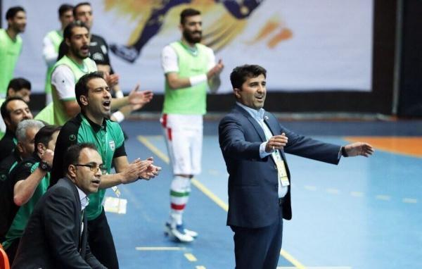 قرارداد سرمربی و اعضای کادرفنی تیم ملی فوتسال ایران تمدید شد